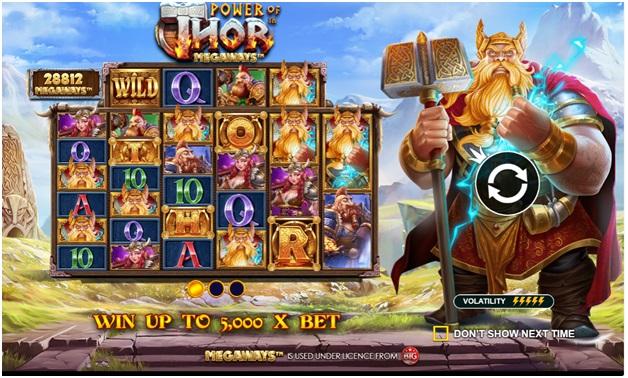 About Thor Megaways - Winning