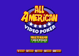 All American Multi-hand poker