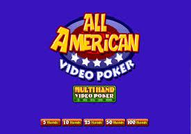 All American Multi-hand poker
