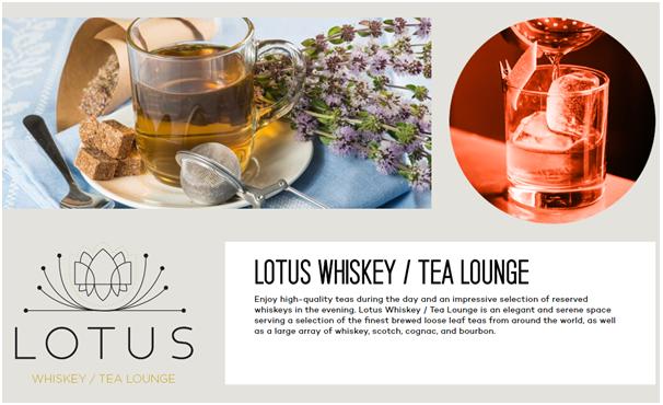 Parq Vancouver- Lotus Whiskey
