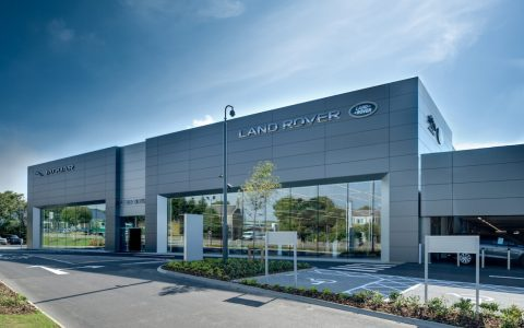 State-of-the-art Peter Vardy Jaguar Land Rover showroom opens in Aberdeen