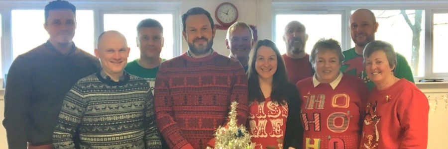 IFT's office Christmas jumper day!