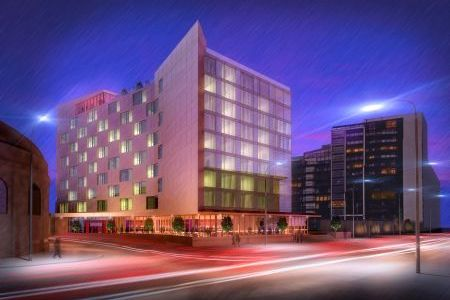 IFT install screed at new Radisson Hotel in Glasgow