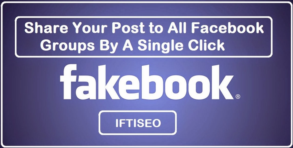 How to Share Your Post to All Facebook Groups By A Single Click