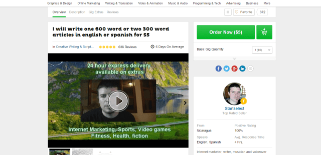 Fiverr Strategy Guide for Beginners
