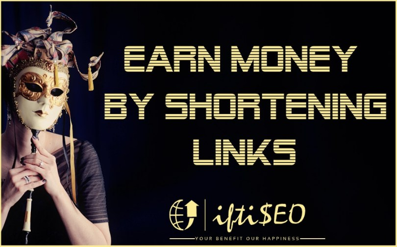 earn money from url shorteners