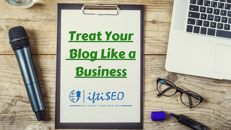 Treat Your Blog like a Business (1)