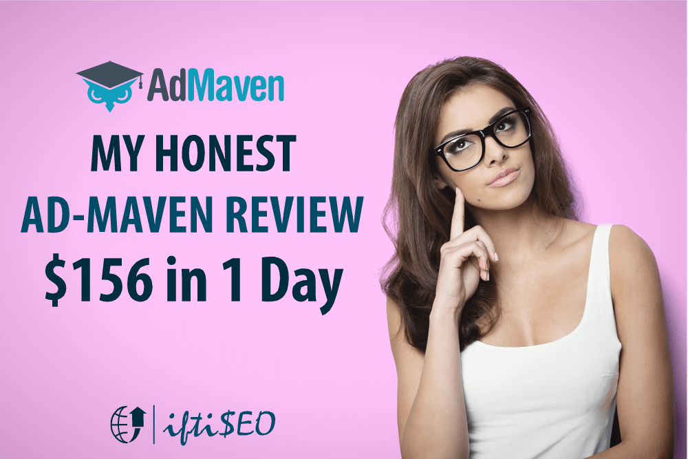 My Honest Ad-Maven Review & Stats: Made $156.3 in 1 Day