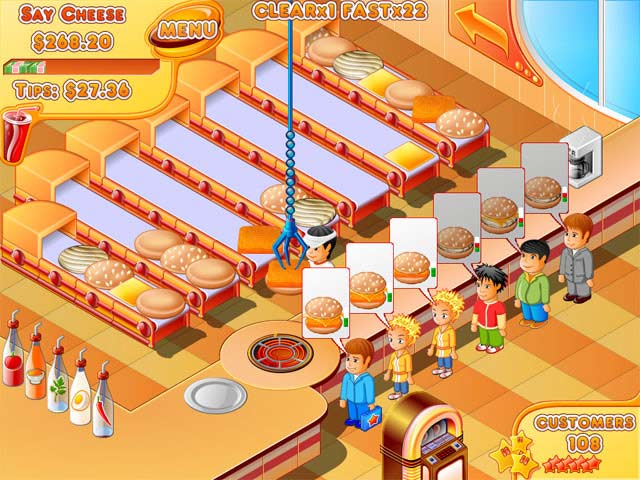 Fun Free Restaurant Games
