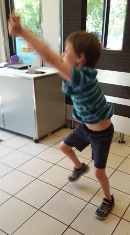 Napkin Dance 2