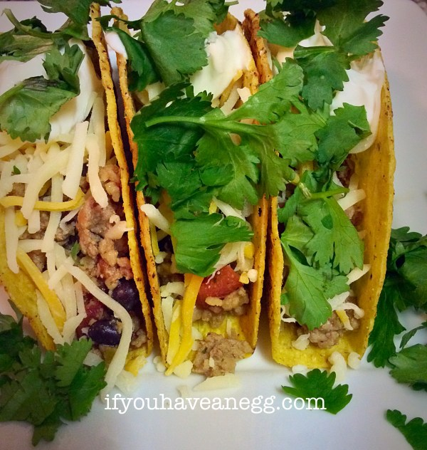 Turkey Tacos - 5 Points Plus per taco