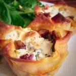 Veggie Lasagna Cupcakes – 3 Weight Watchers Smart Points (3PPV) per serving