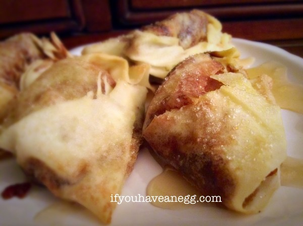 Fried Apple Mini Turnovers - only 3PP for two!