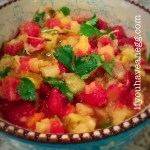 Pineapple Salsa – 1 Weight Watchers Smart Point per serving