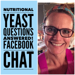 WW Nutritional Yeast with Smart Points: Facebook Live Chat!