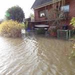 Hochwasser in Estebrügge_2014