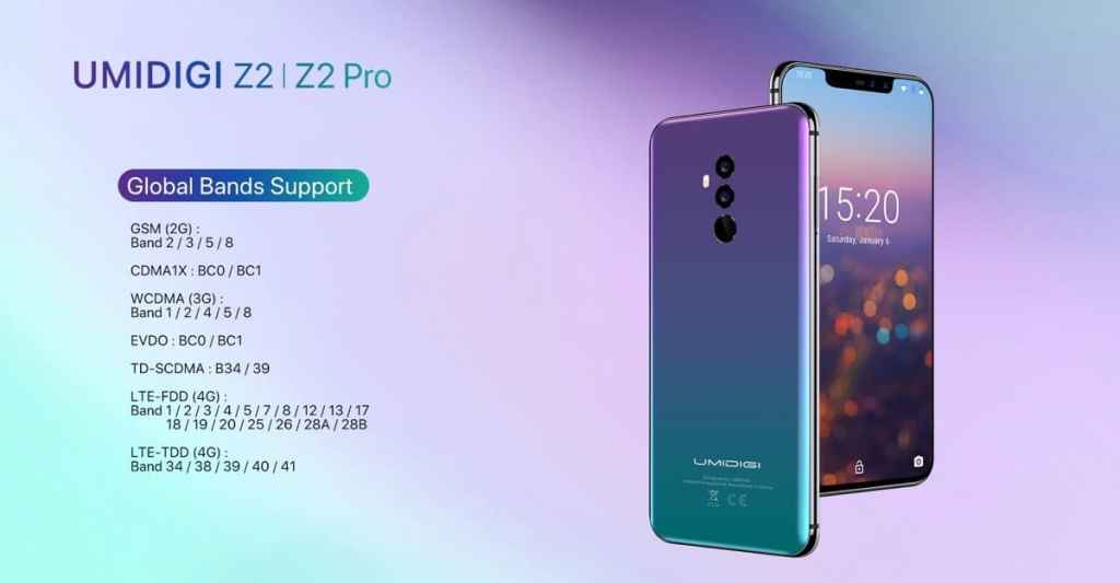 UMIDIGI Z2 Pro & Z2 Announced: Will Be Launched On May 9 - 5