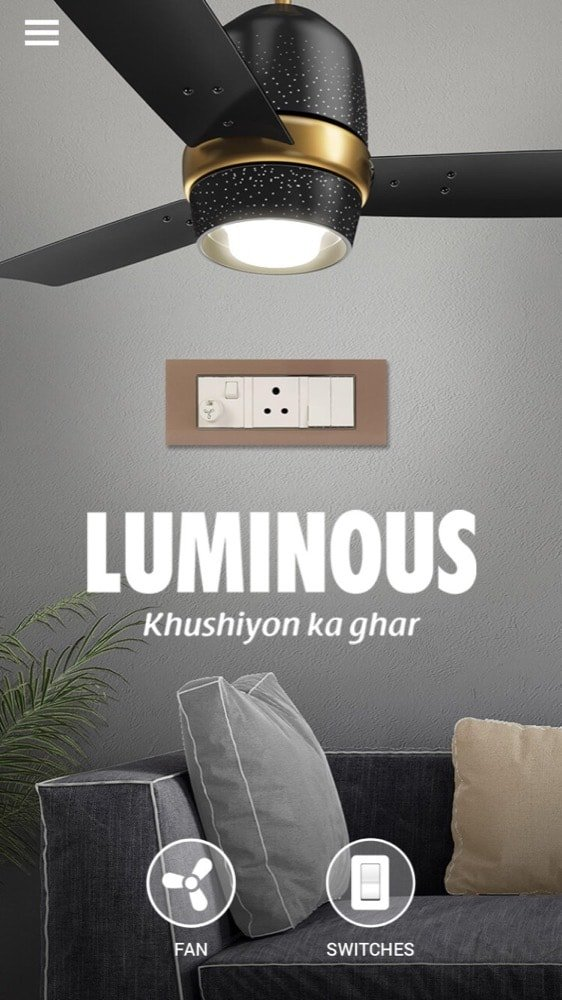 Luminous introduced luminous home that uses Augmented Reality to display the view of interiors - 5