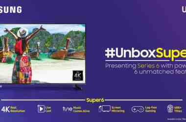 Samsung Super 6 UHD Smart TV Lineup Is Officially Launched in India for a Starting Price of Rs. 41,990 - 9