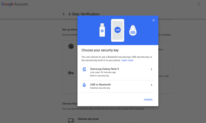 Now You can Use Your Android Phone as a Security Key to Logon Google - 5