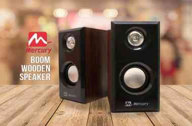 Mercury Boom Wooden Speaker Launched – Features & Price - 5