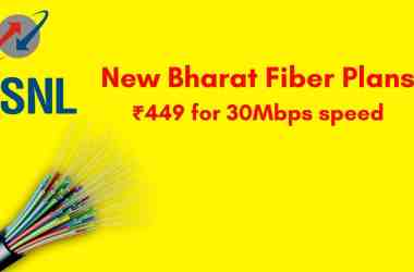 BSNL To Introduce New Low-Cost Bharat Fiber Plans - 7