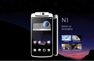 World's first Android smartphone with a moving camera: The Oppo N1 - 3