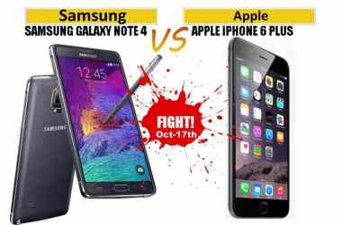 Oct 17th: Battle of two Phablets in India - Galaxy Note 4 vs iPhone 6 Plus - 3