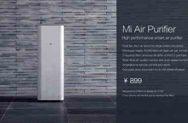 Xiaomi unveiled Air purifier in pre-CES event in China today - 2