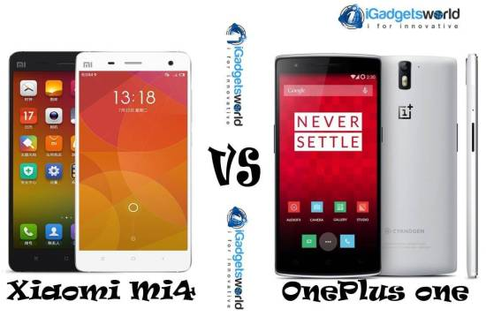 Xiaomi Mi4 Vs OnePlus one: Which is the best smartphone? - 1