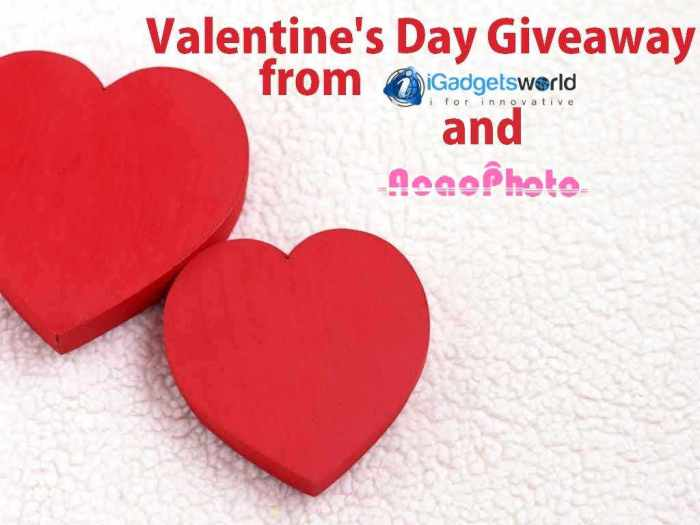 Valentine's Day Special: Partner Giveaway; Get Aoao Watermark for Photo free - 2