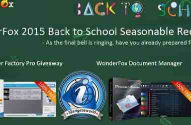 Back To School Offer: Get Video Converter Factory Pro & WonderFox Document Manager for free [Giveaway] - 2