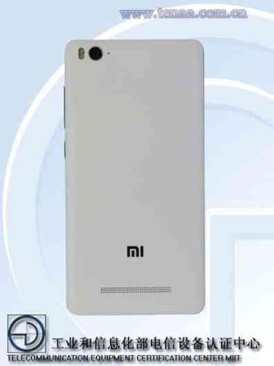 Xiaomi Mi4C Back Panel- Leaked-Tenna-certification