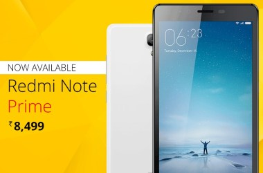 Xiaomi introduces slightly upgraded Redmi Note Prime with 5.5-inch Display & Dual Sim 4G LTE - 2