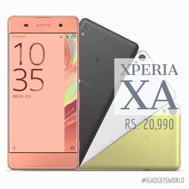 xperia xa -launched in India - price