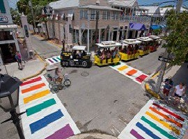 Rainbow sidewalks & other LGBT pride celebrations
