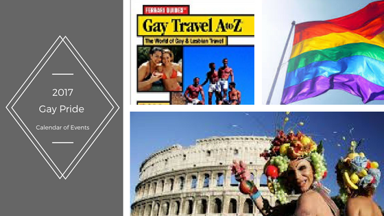 2017 Gay Pride Calendar of Events