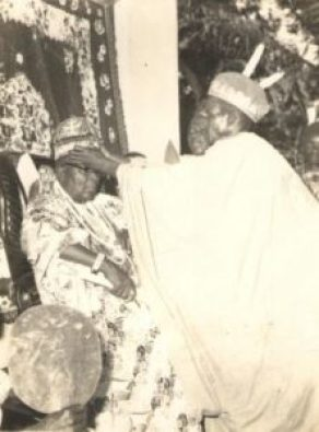 Igwe (King) Thomas Offokaja