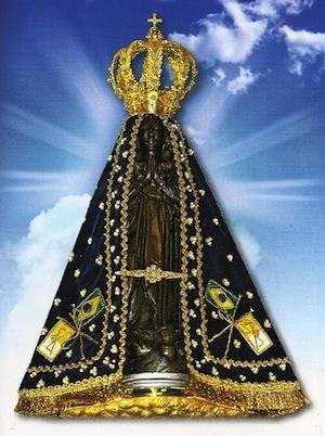 En homenaje a nuestra Señora Aparecida, patrona de Brasil.