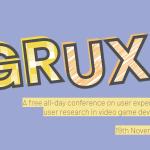 IGDA GRUX SIGが無料オンラインカンファレンスを実施(11/19)