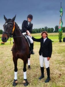 Stadtringsiegerin Janine Tiepel (Flingern) Reitercorps Jacobe von Baden