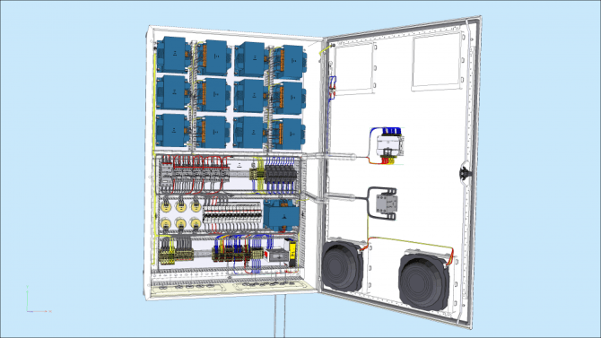 3d panel  all the power of 3d for electrical panel design