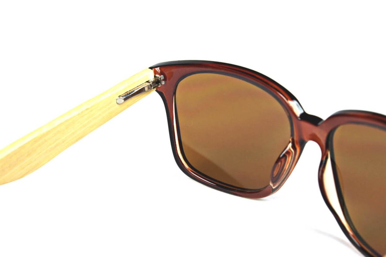 Oversize Bamboo Sunglasses