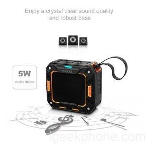 FW1S-Vodool-Outdoor-Shower-Waterproof-Shockproof-Dustproof-Wireless-Bluetooth-Shower-Speaker-with-10-Hour-Playtime