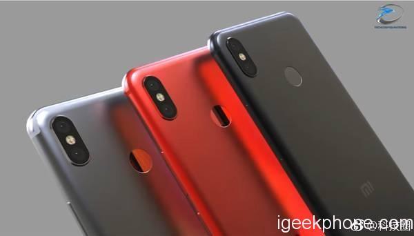 Xiaomi Mi A2 Concept Renders