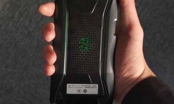 Black Shark gaming phone rear view