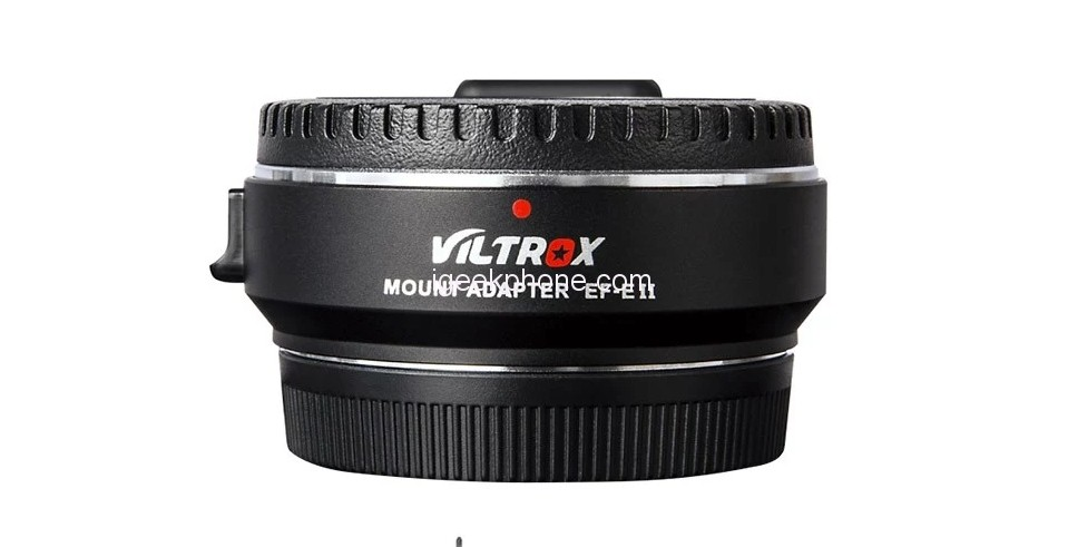 Viltrox Ef E Ii Lens Mount Speed Booster Adapter For Just 119 99 At Tomtop In Flash Sale Igeekphone China Phone Tablet Pc Vr Rc Drone News Reviews