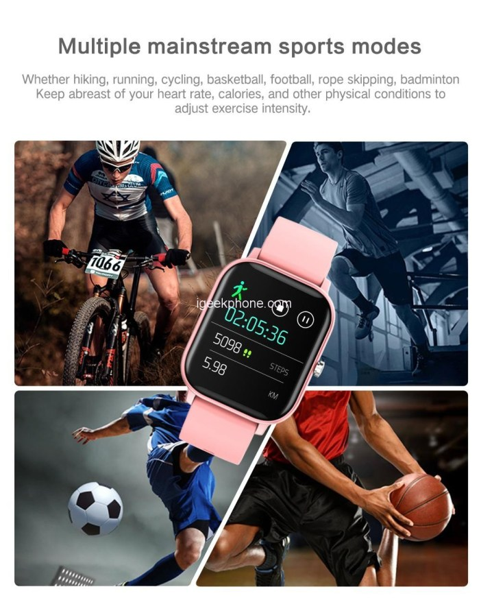 Makibes P8 Smartwatch Features