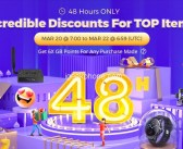 Gearbest 48H Lighting Flash Sale with Incredible Discount with Coupon