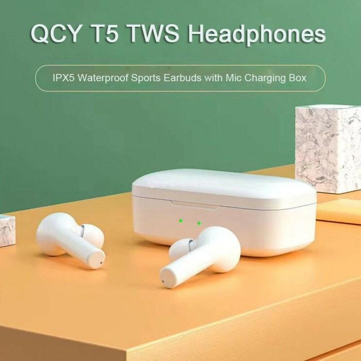 Xiaomi QCY T5 Wireless Headphones